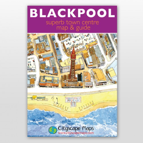 Map - Blackpool map