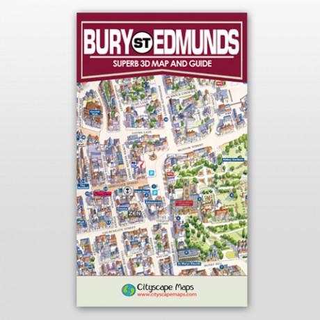 Bury St Edmunds Map