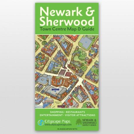 Newark & Sherwood Map