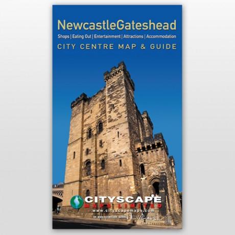 Newcastle Gateshead Map