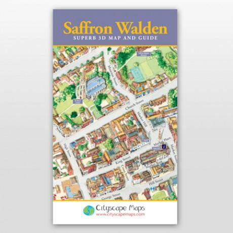 Saffron Walden Map
