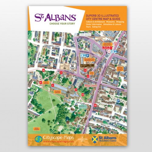 St Albans Map